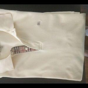 Burberry London short sleeve, light yellow, polo